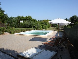 Beautiful, rustic villa with private pool and basketball court in Puglia, Italy