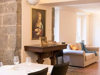 Fillungo Suite apartment in Lucca with WiFi, air conditioning & lift.