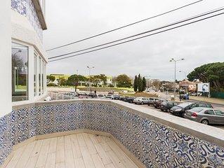 Cascais Charming Balcony apartment in Cascais with WiFi, air conditioning & balc
