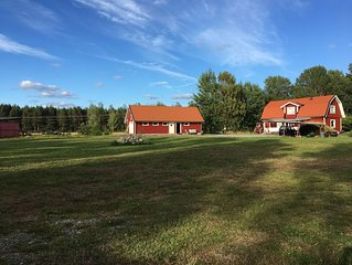 Horse farm and guest house at bicycle distance to Norrköping