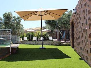 Villa Cantos Colorados. Tranquilidad y paz para pasar en familia.
