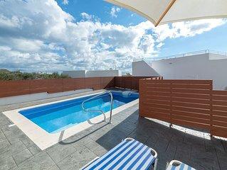 Milos Villas - Four villas in Pefkos, Lindos Rhodes with private swimming pool