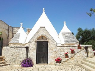 Beautiful 5 Star Villa And Trullo With Large Private Pool
