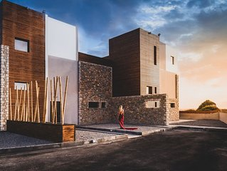 Amara luxury villas, unique contemporary style villas in Lachania Greece!