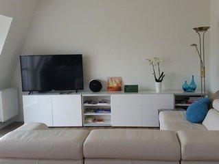 Luxe appartement in Vlaamse Ardennen met boszicht