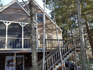 Lake Winnipesaukee Waterfront  Home with Dock