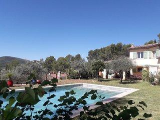 Maison spacieuse entre Provence et Côte d'Azur