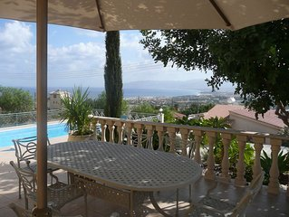 Stunning Villa With Pool In Private Peaceful Location With A Stunning Bay View