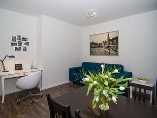 Stylisches Apartment am Clarapark - 15 Gehminunten vom Zentrum. Topausstattung!