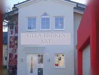 Ferienappartement BROKEN ART (Urlaub in der Stadtvilla)