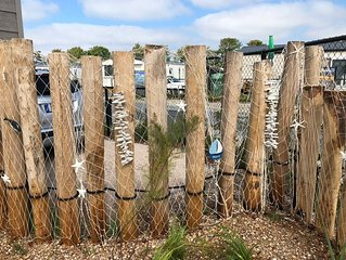 Ferienhaus mit TOP-Ausstattung, nur 5 Gehminuten bis zum Strand, Hunde erlaubt