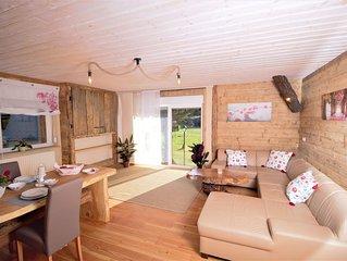 Traumhafte  Ferienwohnung VANESSA in idyllischer Lage des Zittauer Gebirges