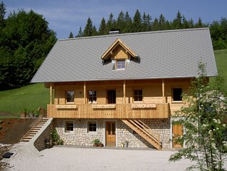 Grosses Luxusapartment im Triglav Nationalpark, beim See Bled und Bohinj