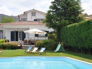 Casa con piscina en Vila Nova de Cerveira, ideal para descansar