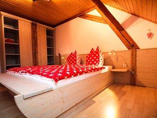 familienfreundliches Appartement mit tollem Ausblick im Herz von Oberwiesenthal