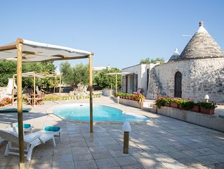 Trullo A.***. with Private Pool near Locorotondo