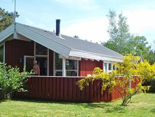 Unique Seaside Holiday Home in Hadsund near Terrace