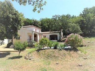 Maison de charme sans vis-à-vis, parc de 3800 m2 - idéal pour 1-2 famille(s)
