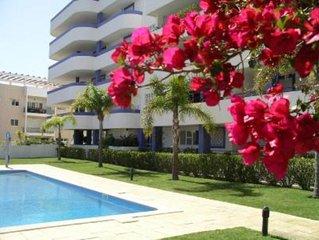 Apartamento luxo Marina  Vilamoura e Praia da Falésia WiFi & Ar condicionado