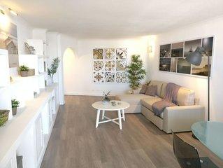 Albufeira, superbe appartement T1, pour 4 maxi, piscine, plages à 800 m à pied,