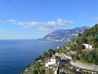 Villa La Macera with great sea view