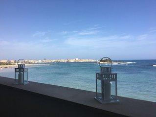 Fantastica Casa Alba Serena sul mare a Marzamemi 4/5 posti letto e Wi.Fi free