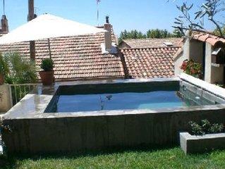 Maison de charme avec bassin, coeur de l'Estaque, 800m de la plage!