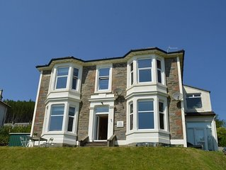 Kintore  3 B/R Apt in Innellan nr Dunoon, with views over the Firth of Clyde sle