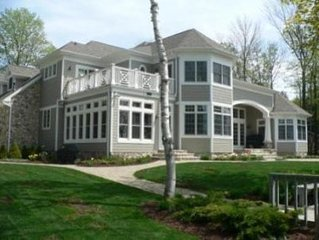 White Cliff Water Front Home, the Finest in Door County!