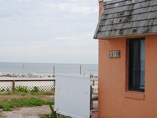 Historical OCEANFRONT COTTAGE located on a semi-private beach in Summerhaven.