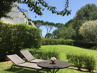 VILAMOURA GARDEN APARTMENT, 2 BED, 1 1/2 BATH, STYLISH AND CENTRALLY LOCATED