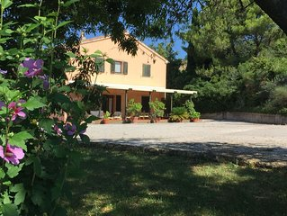 Wonderful private villa for 10 people with WIFI, TV, balcony, pets allowed and p
