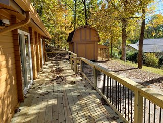 Newly Updated Luxury Cabin on Beaver Lake