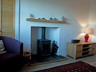 Comfortable ground floor flat with stunning coastal views, Glencaple.