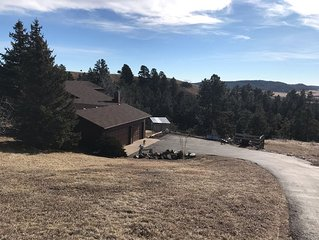 Scenic getaway with easy access to Rapid City and all the Black Hills offers.