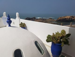 Riad avec superbe vue sur l'océan