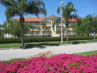 FRESHLY REMODELED TOP FLOOR LUXURY CONDO in Coral Falls, part of Lely Resorts