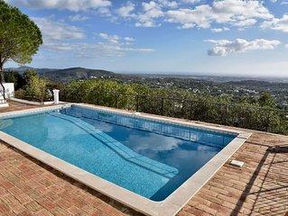 Villa Individuelle au calme vues spectaculaires sur l'Algarve et l'océan