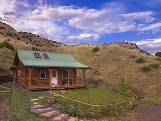 Yellowstone Montana Cabin Healing Retreat Beauty of Paradise Valley!
