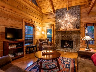 Modern rustic luxury on the peaceful side of the Smokies!