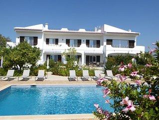 Appartement dans villa au calme, Vue mer, Plage à 5km