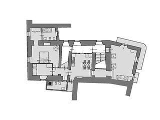 Centralissimo appartamento nel centro storico di Orvieto, terrazzo vista Duomo