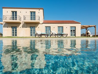 Aquila Villa, a new villa with breathtaking panoramic view and huge pool