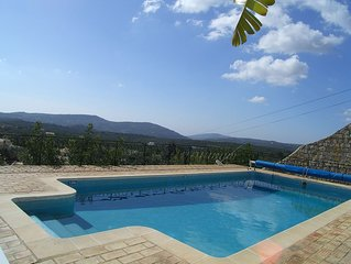 Luxurious 3 Bed All Ensuite Villa,Private Heated Pool,Spectacular Valley Views