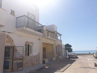 Appartamento a 10 metri dalla spiaggia di Torre Lapillo con aria condizionata