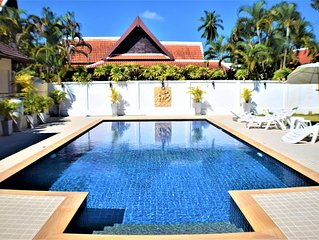 Amazing Luxury 5 Bed Villa with Private Pool and lovely tropical garden