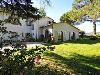 Villa in Orvieto with 4 bedrooms sleeps 8