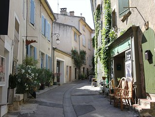 Village Centre 'Maison De Village' (17th C) With Private Sun / BBQ Terrace