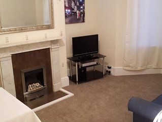 Westbrook Bay Apartment with Sea Veiws 5-10 min walk from Dreamland, Margate.