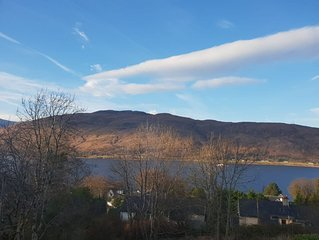 Beautiful 4 bedroom Lochaber apartment, newly renovated with stunning loch views